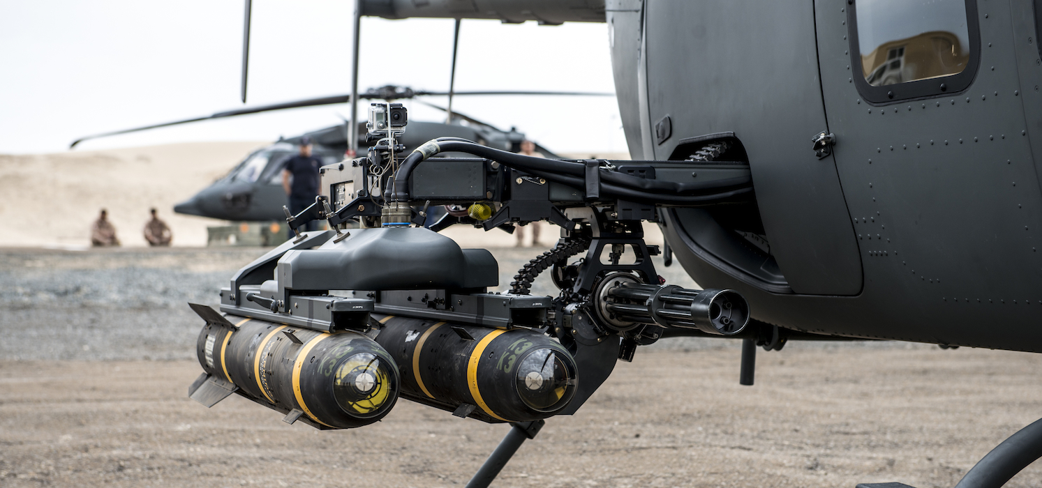 ALWiP® loaded with Dual Hellfire Missiles