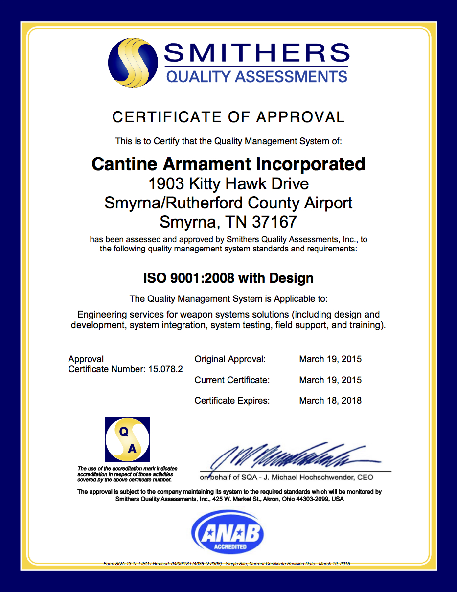 Q-2308 ISO Certificate